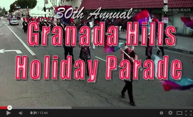 2013 Granada Hills Holiday Parade   YouTube